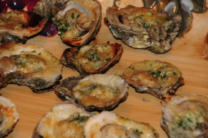 Grilled Gulf Oysters