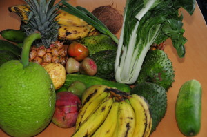 Fresh Caribbean Fruits & Veggies from Good Moon Farm